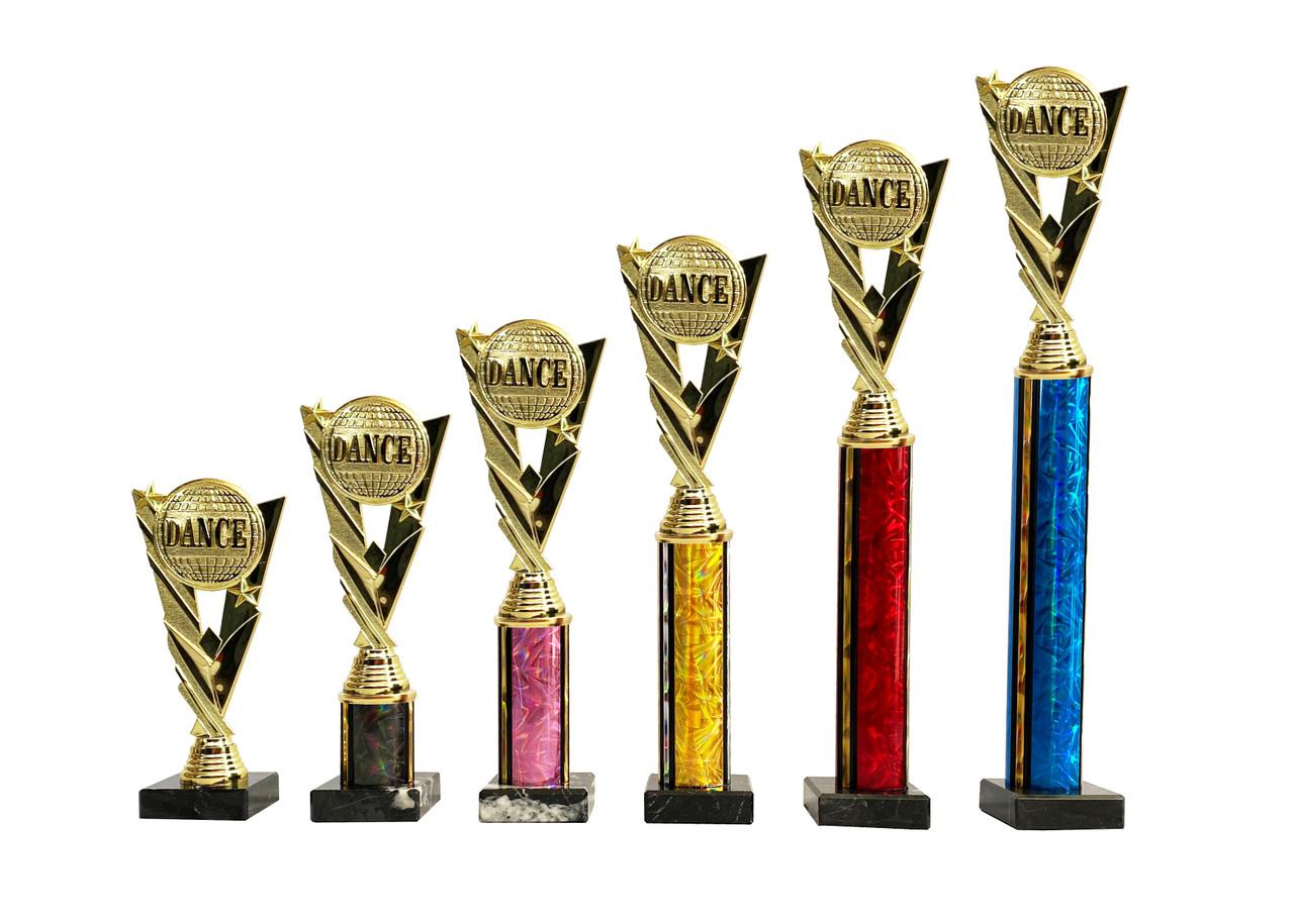 Dance planet column trophies