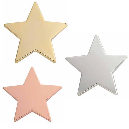 STAR ENAMEL TOP 3 BADGE