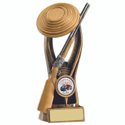 Clay Shooting gold Award for your sporting event RM127 1st Place 4 Trophies