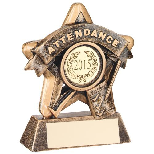 Great value budget School attendance award with FREE engraving.