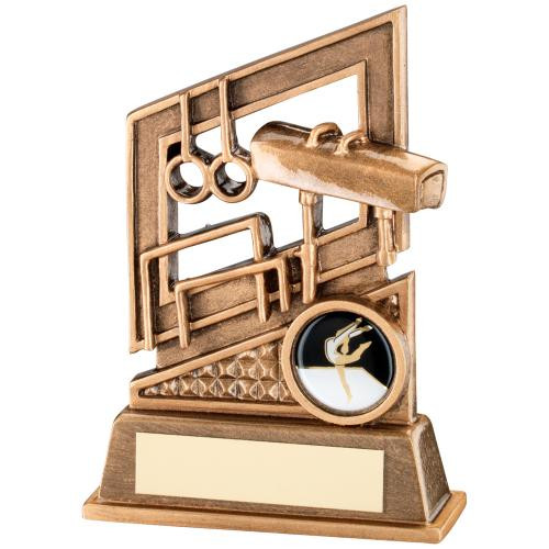 Gymnastics Discipline Award that includes FREE personalised engraving.