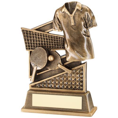 TABLE TENNIS PADDLE AND SHIRT AWARD
