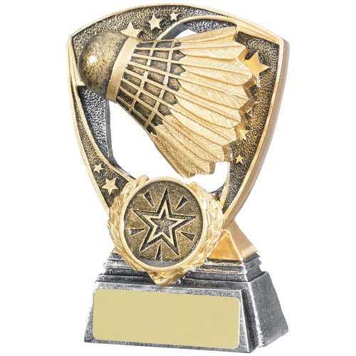 Shield Badminton Shuttlecock Award Excellent low price from 1st Place 4 Trophies