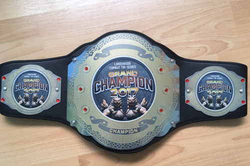 Championship Title Belt (logos for illustration purposes only)