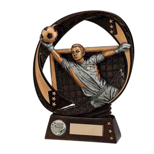Typhoon football goalkeeper trophy award