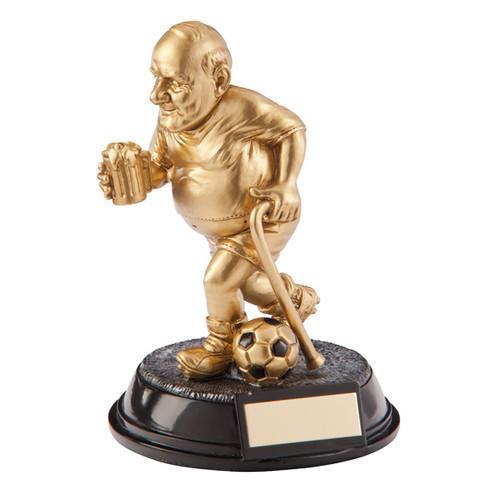The Old Git Football Trophy Beer Bellies award