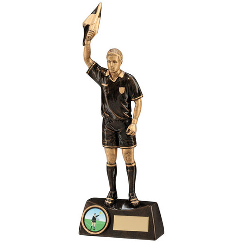 Assistant referee football trophy award