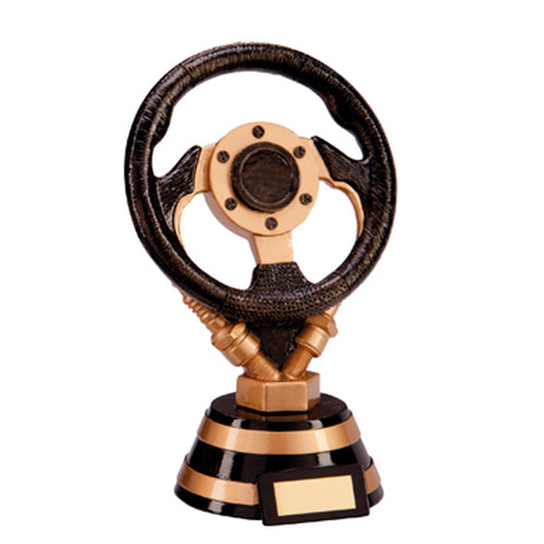 Apex steering wheel driving motorsports karting trophy award
