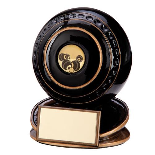 Protégé lawn bowls black bowling ball award