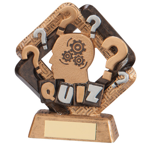 Sporting Unity Quiz series winning award cheap trophy prize