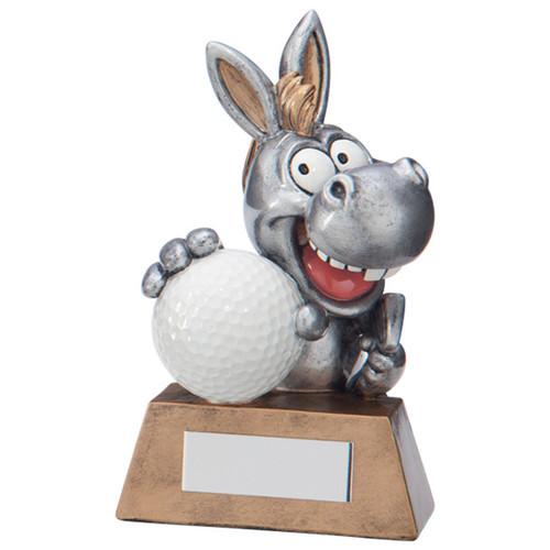 What A Donkey! Novelty fun comic cheap budget golf award