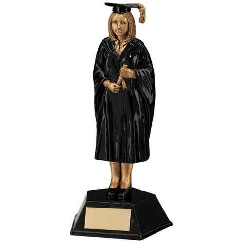 Tribute Female graduate award college university cheap value trophy