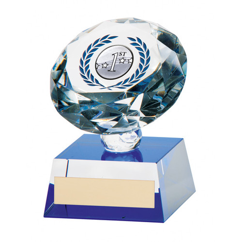 Solitaire multisport stunning crystal sphere trophy award