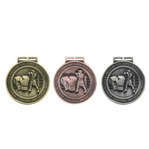 "Olympia Boxing Sport 70mm (2.75"") 3D Medals"