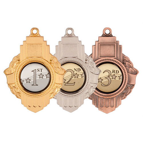 Vitoria Medallion 70mm medal with free engraving at 1st place for trophies