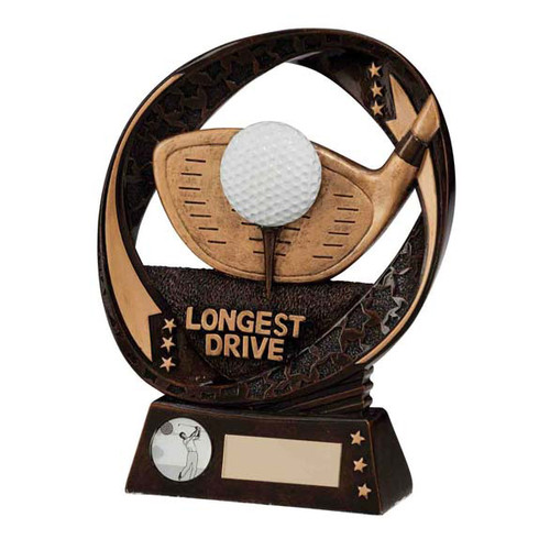 Typhoon Longest Drive Golf Iron club and golf ball award