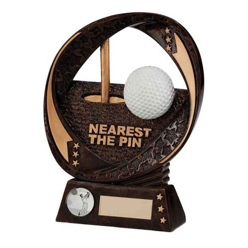 Typhoon Nearest the Pin Golf ball beautiful resin finish award