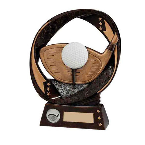 Typhoon golf award available in 3 sizes at budget prices