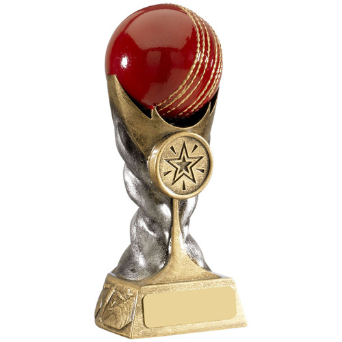 Eclipse gold and silver cricket award available in 2 budget priced sizes