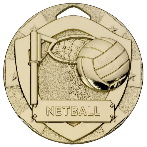 50mm embossed netball gold silver and bronze medals with free engraving