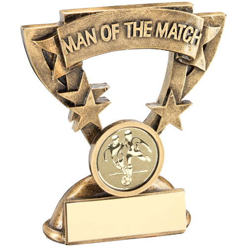 Man of The match Team Football value budget cup star award