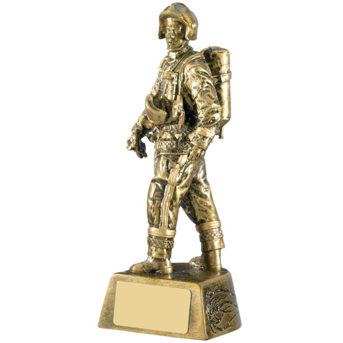 Firefighter RM999 Award. Quality trophy for a low price celebrating our servicemen and women