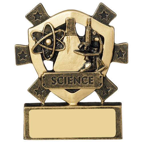 Star Shield Science Subject Academic Achievement School Award