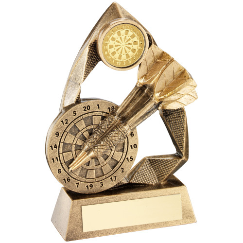Dartboard and Darts gold award available in 3 cheap sizes and with FREE engraving.