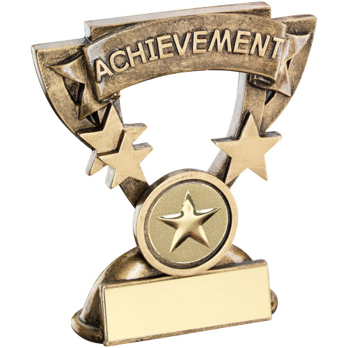 "Resin Achievement school or activity award that includes FREE engraving. 1"" centre."