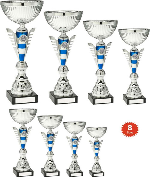 A fabulous multisport trophy cup in a whopping 8 sizes so you can choose to suit your budget.