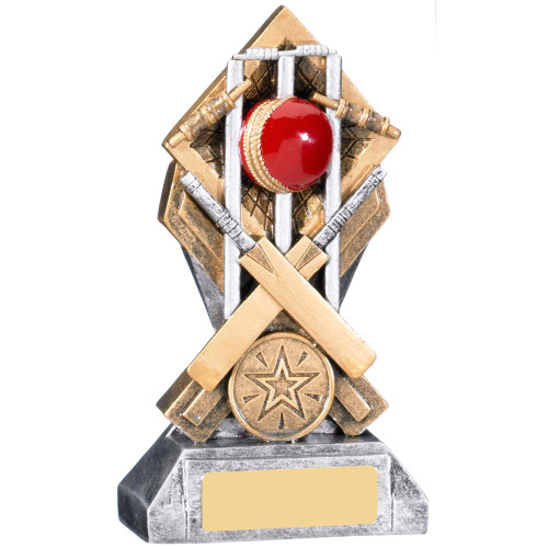 Diamond Extreme Cricket trophy available in 2 affordable sizes