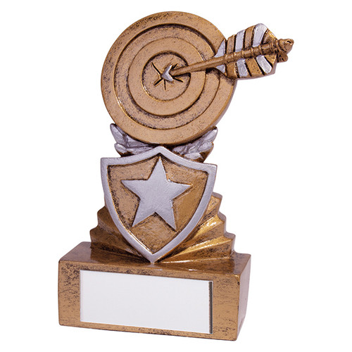 Shield Mini Archery Award. Budget price and includes FREE engraving.