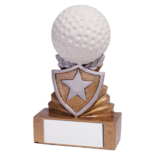 Shield Mini Golf Award. Budget price and includes FREE engraving.