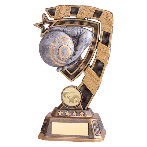 Euphoria Crown Green/Lawn Bowls Award available in 4 super sizes with FREE Engraving