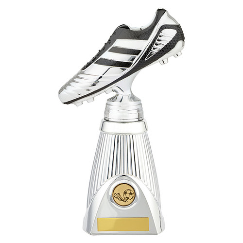 This deluxe football boot award comes with FREE engraving PM19203