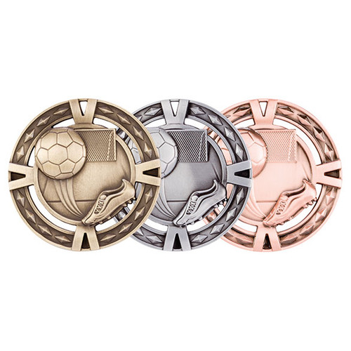 V-Tech Football 60mm 3D Medals great value medals at the best prices
