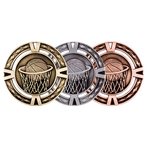 V-Tech Basketball 60mm 3D Medals great value medals at the best prices