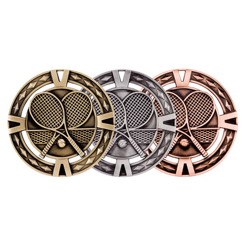 V-Tech Tennis 60mm 3D Medals great value medals at the best prices