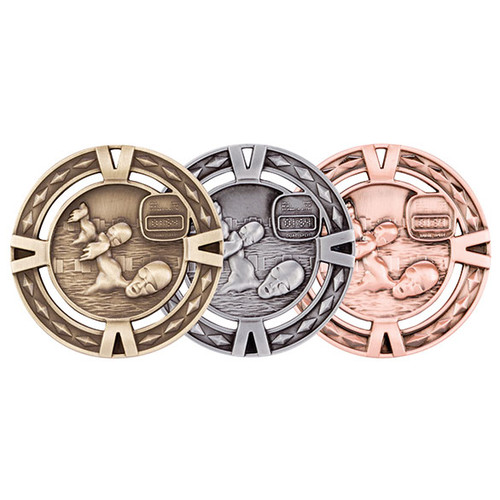 V-Tech Swimming 60mm 3D Medals great value medals at the best prices