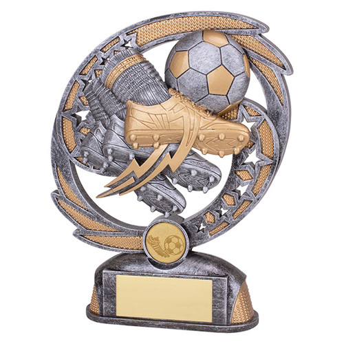 Sonic Boom Football Boot & Ball Action Trophy Award pt19045