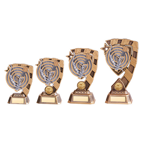 Euphoria Archery Target Series Award in 4 sizes with FREE engraving