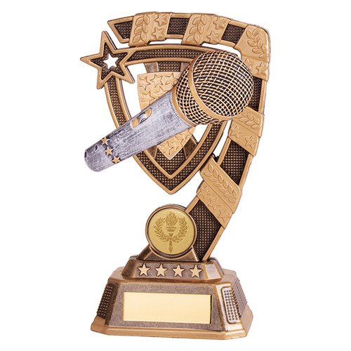 Euphoria Music Series Award in 4 sizes with FREE engraving at 1stPlace4Trophies