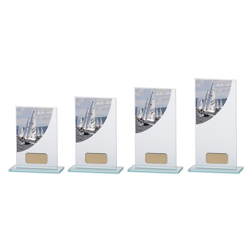 Colour Curve jade glass Music award with FREE engraving at 1st Place 4 Trophies & Gifts