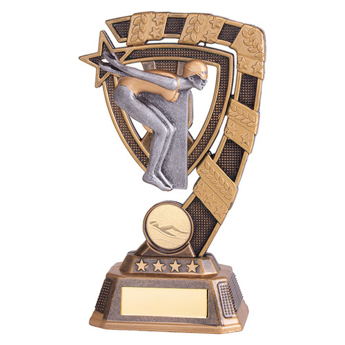 Euphoria Female Swimming Award available in 4 super sizes with FREE Engraving