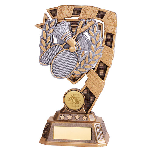 Euphoria Badminton Award available in 4 super sizes with FREE Engraving