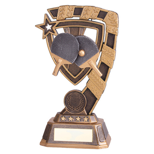 Euphoria Table Tennis Award available in 4 super sizes with FREE Engraving