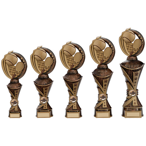 Renegade All Star Tennis Award in a superb choice of 5 sizes with FREE engraving at 1st Place 4 Trophies