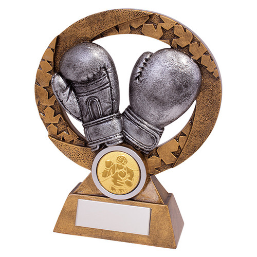 Revolution Boxing Award available in 2 sizes with FREE Engraving at 1stPlace4Trophies