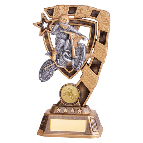 Euphoria Motocross Award available in 4 super sizes with FREE Engraving