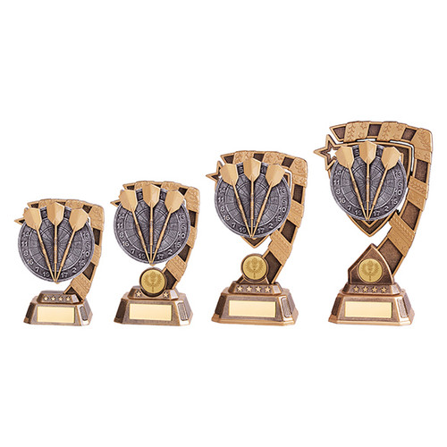 Euphoria Darts Award available in 4 super sizes with FREE Engraving